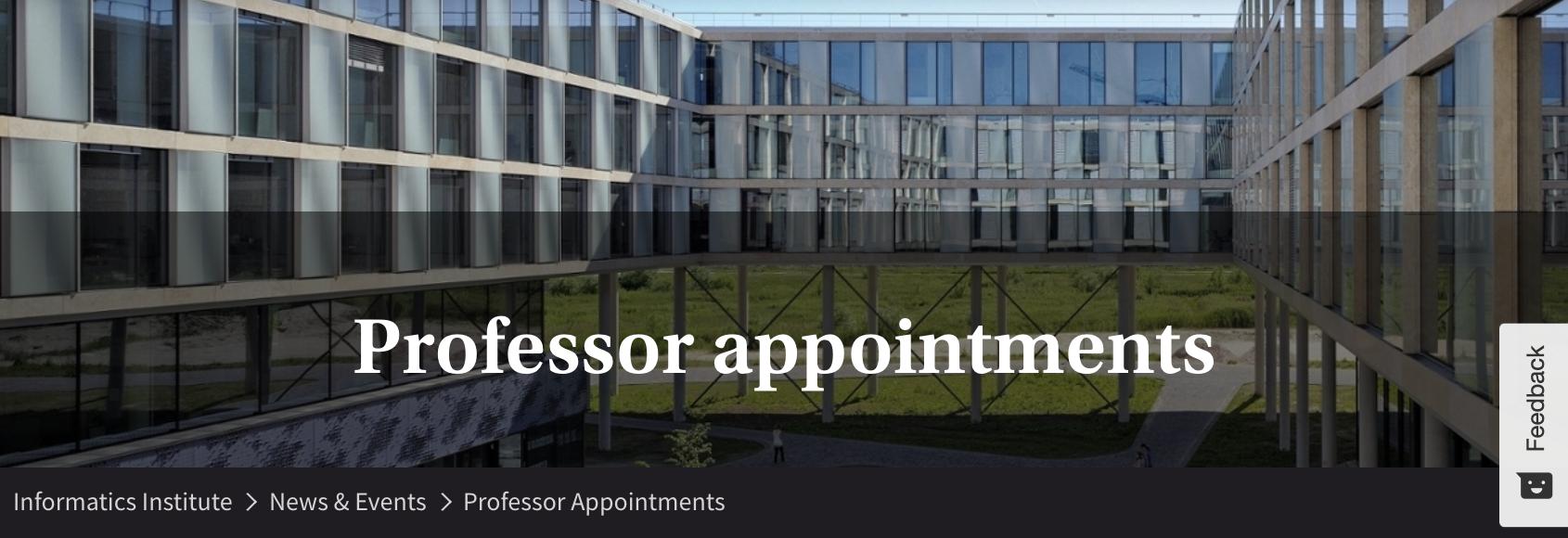 Christof Monz Appointed Full Professor